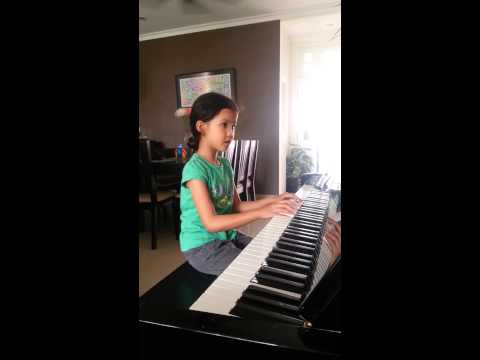 My baby playing piano at home #2