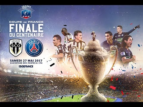 coupe de france la finale du centenaire sco angers paris sg youtube. Black Bedroom Furniture Sets. Home Design Ideas