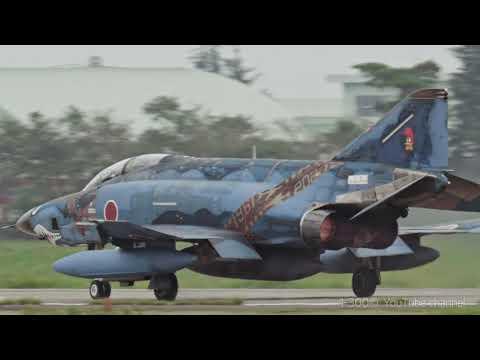 """日本最年長のRF-4 ファントム """" Blue Offshore Shark 901 """"  501sq RF-4 Phantoms"""