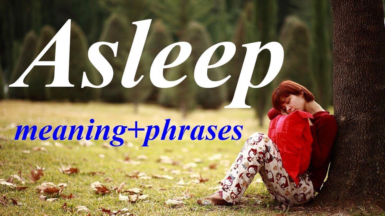 Asleep meaning in Urdu | ASLEEP in Hindi | English phrases translate into  Urdu