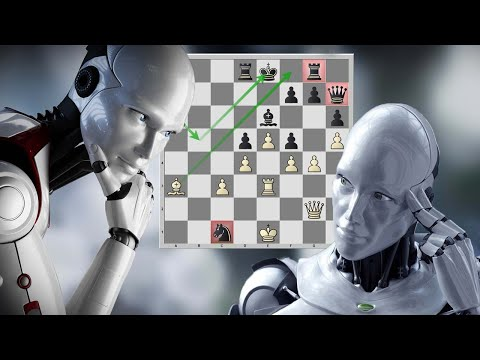 Головоломная схватка шахматных движков во французской защите