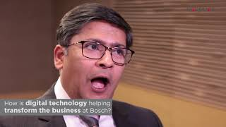 Rajeev Roy, Director of Purchasing and Quality at Bosch, sharing some advice for aspiring IT leaders