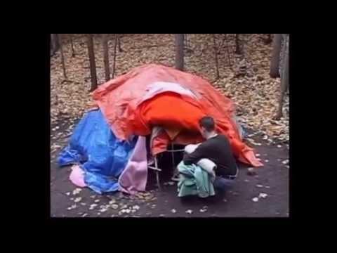 *DIY sweathouse Druid sweat lodge (FULL LENGTH) - YouTube