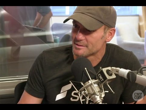 CMT Radio: Tim McGraw's Talks Lessons of Fatherhood & Faith Hill As a Role Model