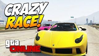 GTA 5 ONLINE PC | CRAZY RACE! #49