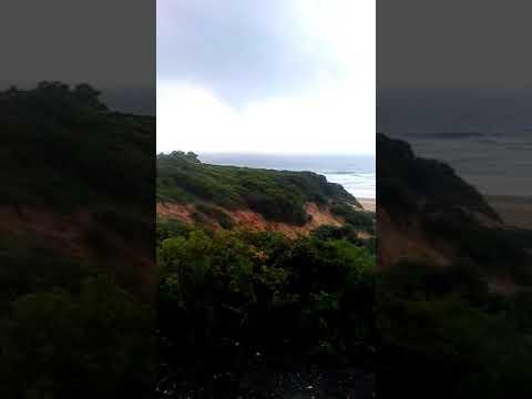 Tornado en la playa de Roche  Conil de la Frontera Cádiz