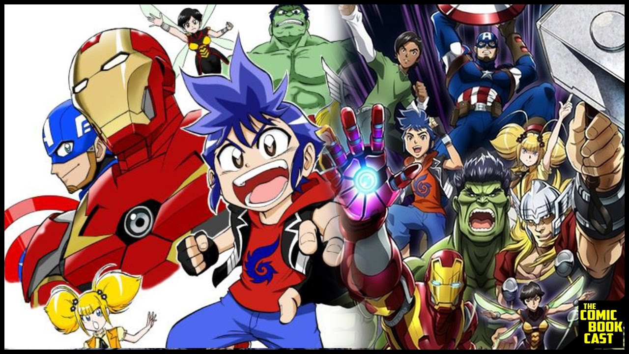 New avengers anime show coming from marvel