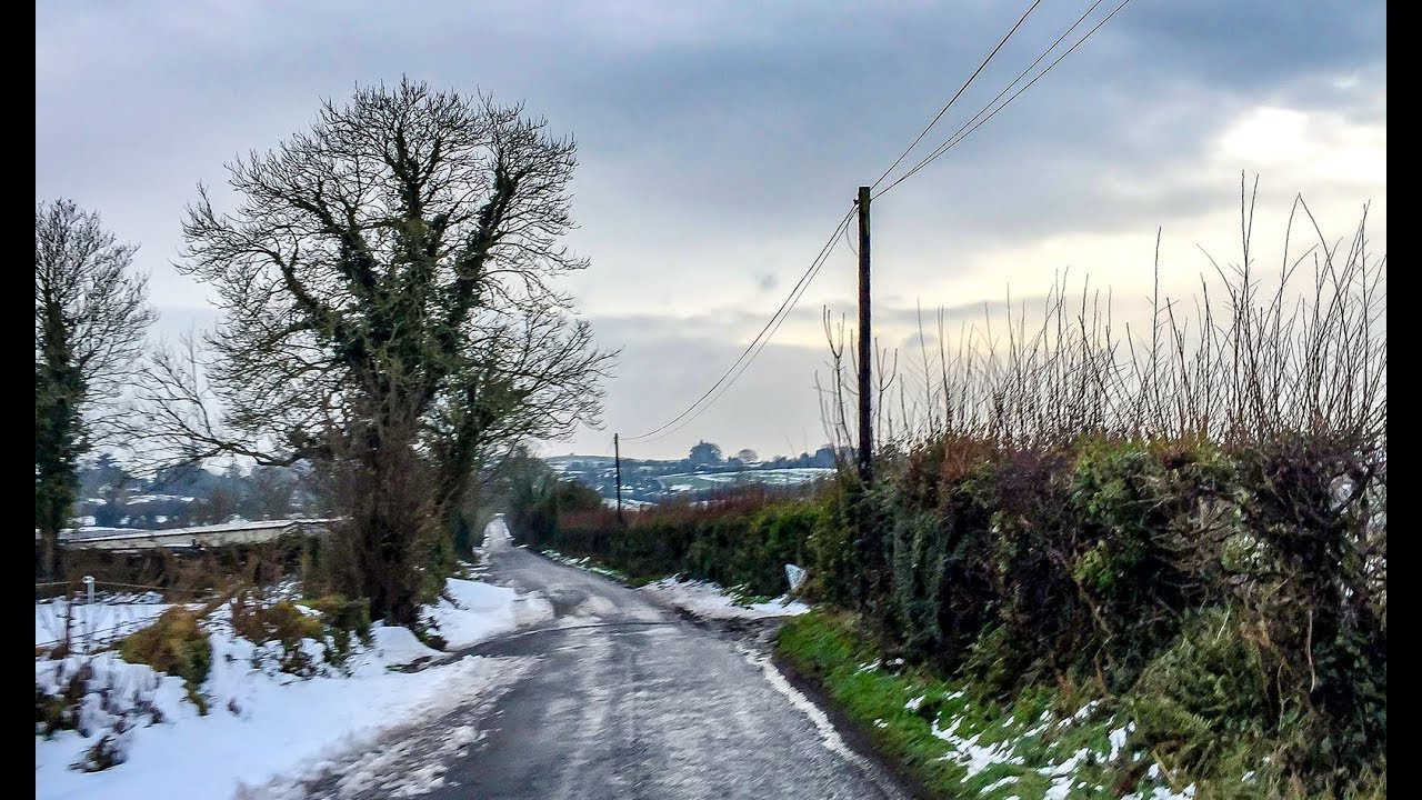 Last sight of snow in Limerick