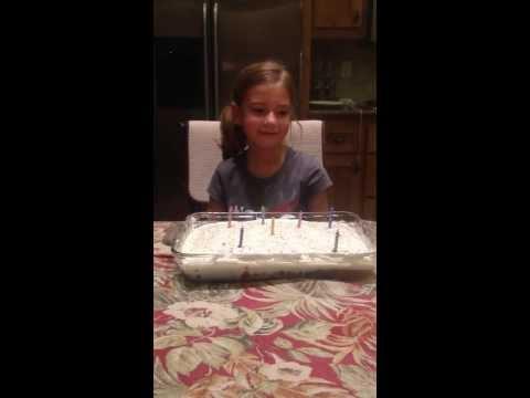 Kayas 7th Birthday In San Go Birthday Cake