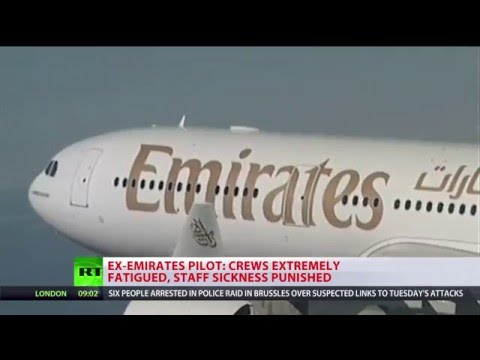 'Emirates crews extremely fatigued': Exhausted pilots tell R