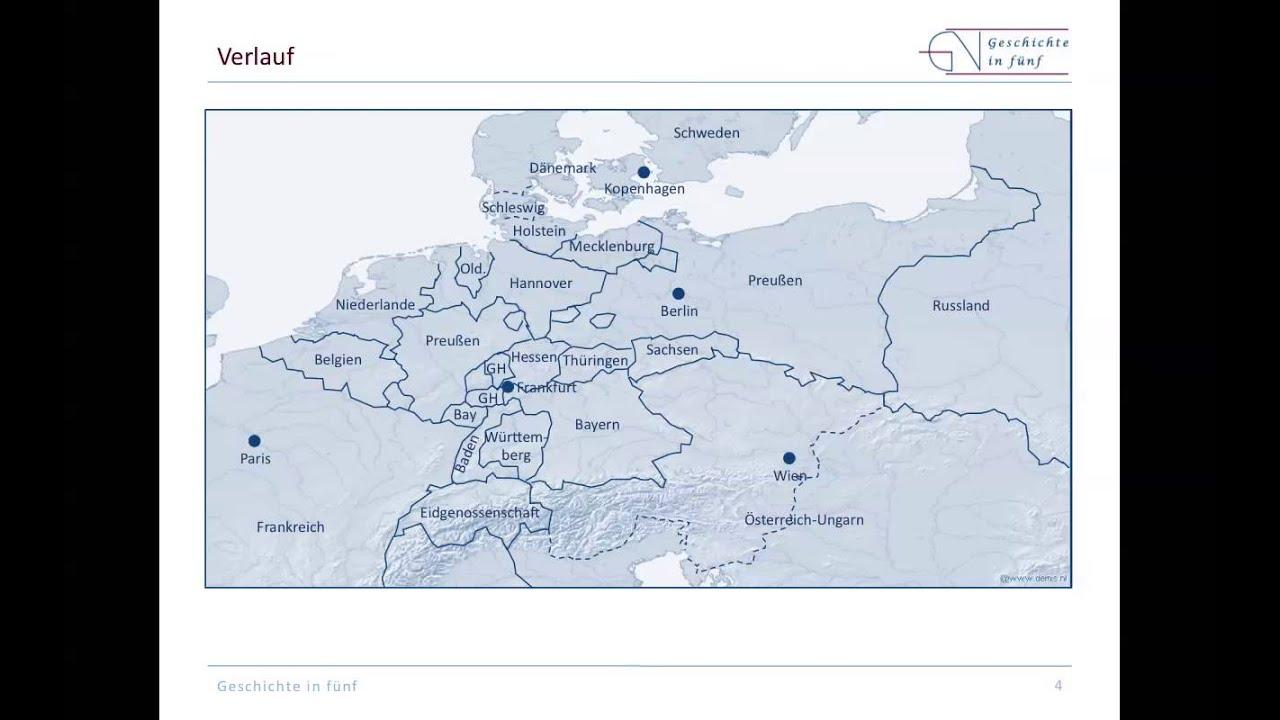 Deutsch-Dänischer Krieg Karte