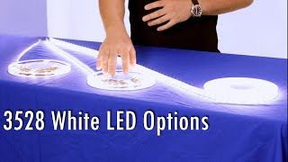 white led strip 3528 options explained by sirs e