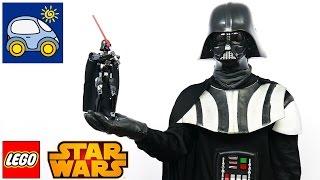 Лего  Звёздные войны Дарт Вейдер 75111 — как Илья и  Картонка в Джедаев играли