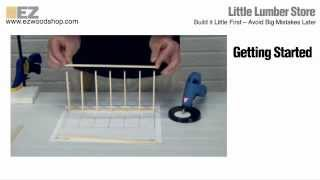 Little Lumber - Build A Scale Model Of Your Woodworking Project