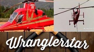 The Amazing K-Max Firefighting Helicopter | Wranglerstar