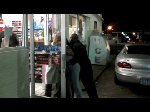 Girl Fight At Citgo in Winston Salem NC