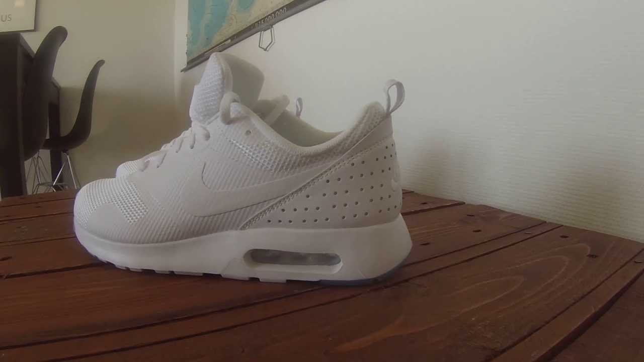 nike air max tavas all white