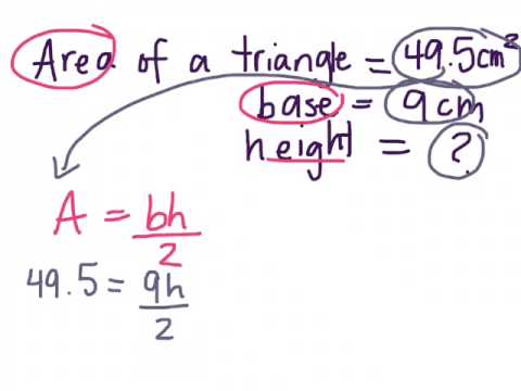 Finding height of a triangle given base and area 81 gr 9 academic finding height of a triangle given base and area 81 gr 9 academic 01 05 15 ccuart Gallery