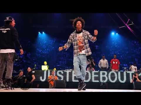 Les Twins vs Lil'O & Tyger B Juste Debout 2011 Semi-Final Mix