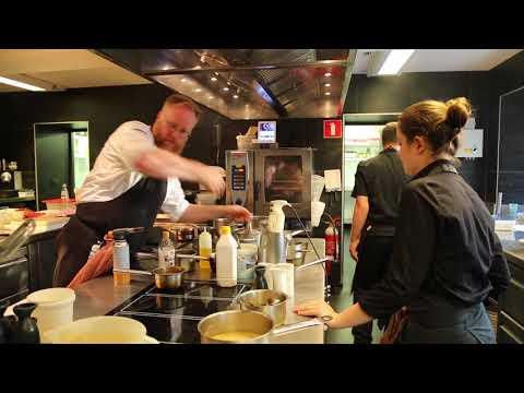 Belgium Michelin restaurant 1 star / Belgique Restaurant Le Cor de chasse Chef étoilé michelin