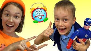 Первый день школы детская песенка от Алекса и Насти