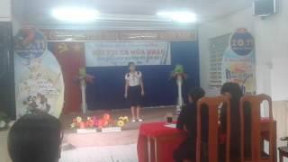 Trường tiểu học Châu Văn Liêm thi hát