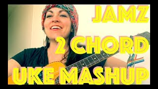 2-chords-5-songs-ukulele-mashup-lesson-hip-hop-dance-how-to-play-5-songs-tutorial-strumming