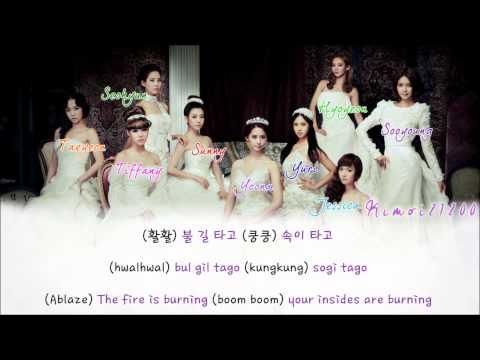 Girls' Generation (SNSD) - Trick  [Hangul/Romanization/English] Color Coded HD
