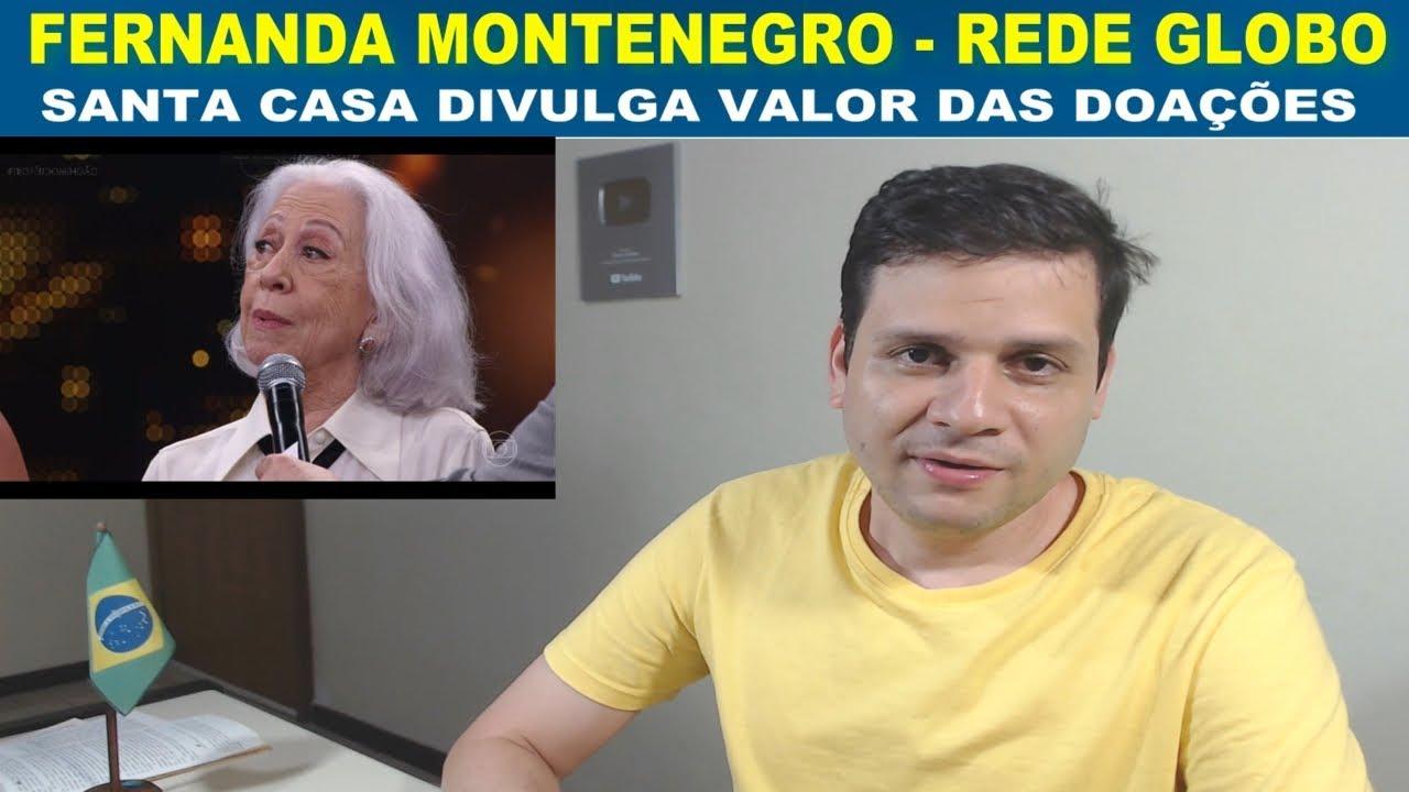 Fernanda Montenegro - Divulgada doações para Santa Casa - Rosa Weber na diplomação do Bolsonaro