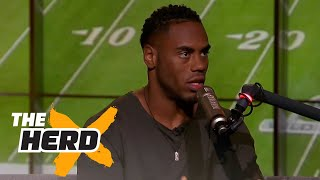 Rashad Jennings talks Deflategate and more with Nick Wright | THE HERD' (FULL INTERVIEW)