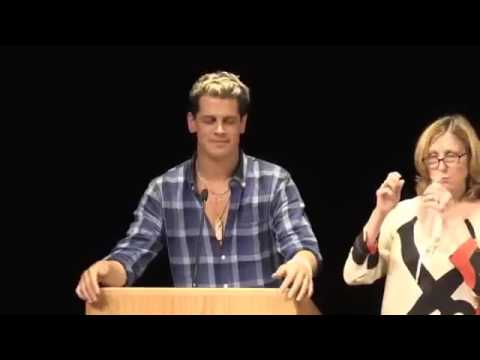 Milo Yiannopoulos, Steven Crowder, Christina Hoff Sommers at UMass