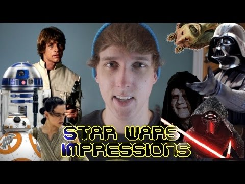 Thumbnail: 41 Star Wars Impressions (AND PARODY)