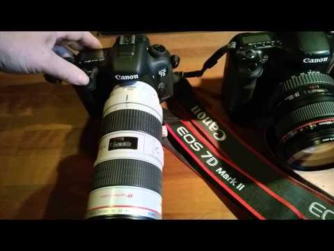 Canon EOS 7D mark II vs. 40D burst mode