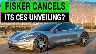 Fisker EMotion CES Unveiling Cancelled?