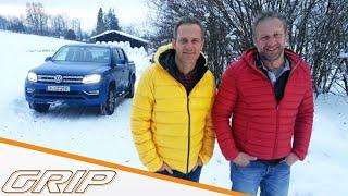 Die Paketkurier-Challenge zur Alpenhütte |Auto vs. Logistikunternehmen |  GRIP