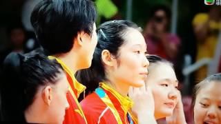相隔十二年,中国女排贏得2016里約奧運金牌,教練郎平好嘢!全体隊員好嘢!
