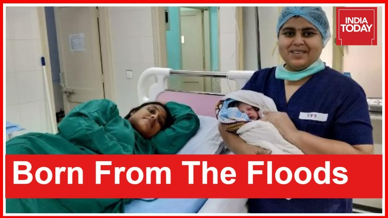 Kerala Floods   Pregnant Woman Rescued By Indian Navy Delivers Baby Boy At Kochi