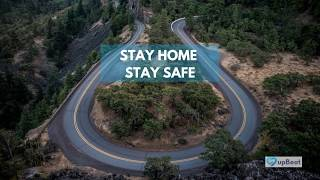 Stay Home Stay Safe - Monitor with upBeat®.