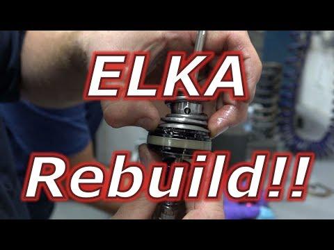 Elka rear shock - YouTube