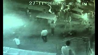Vadodara hit and run cctv live