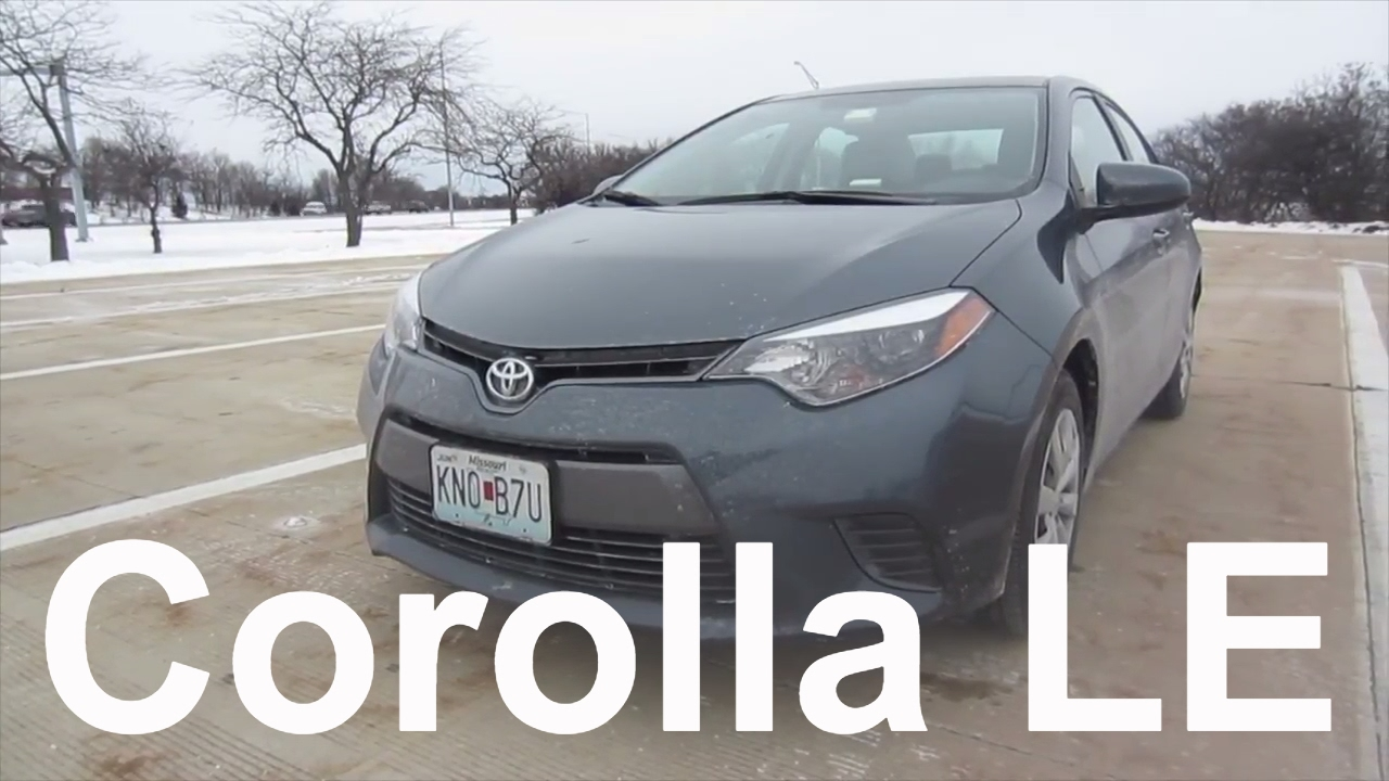 2016 Toyota Corolla Le Full Al Car Review And Test Drive