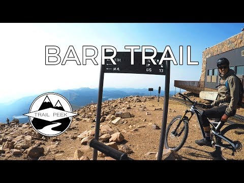 Jibbin' it on Pikes Peak - Barr Trail - Mountain Biking Colorado Springs, Colorado