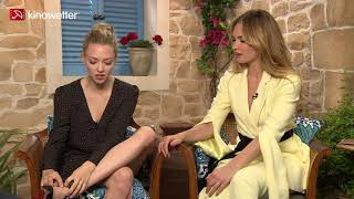 Interview Amanda Seyfried & Lily James MAMMA MIA! HERE WE GO AGAIN