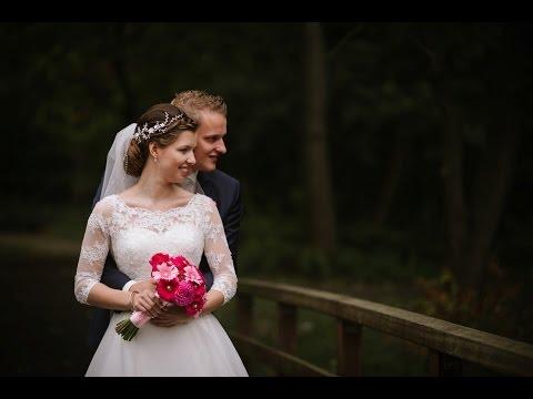 Bruiloftsfilm impressie Jelle en Clarinda