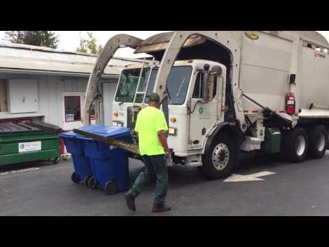 Labrie Optimizer Front Loader Dumping Carts
