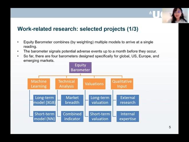 Applying Machine Learning in Finance