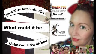 September 2020 ArtSnacks Plus Box Opening/Trial