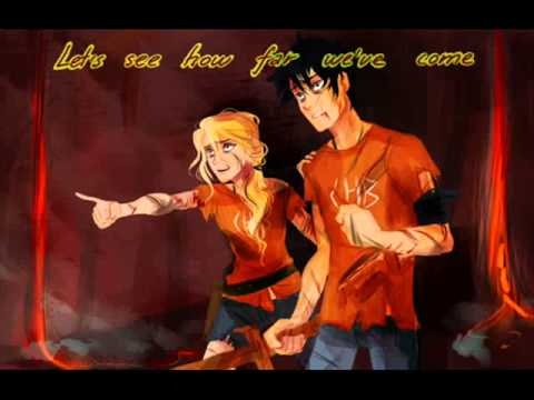 Heroes of Olymp... Percy And Annabeth Kiss Mark Of Athena