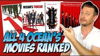 All 4 Oceans Movies Ranked Worst To Best (Ocean's Eleven To Ocean's 8)