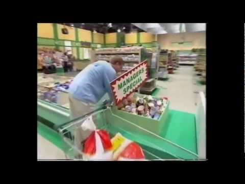 UK Supermarket Sweep 1995 Andy Cole and Alison Lewithwaite